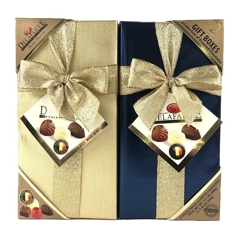 デラファーレ ギフトボックス チョコ 400g DELAFAILLE Gift Box Chocolate
